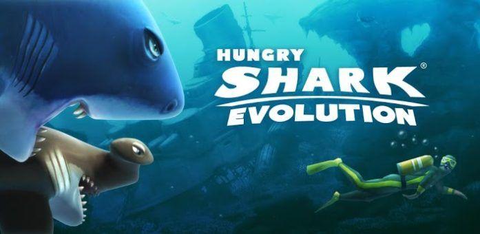 Hungry Shark Evolution v5.3.2 Android Apk Hack MEGA (Infinite Coins / Massive Attack & More) Mod Download  Hungry Shark Evolution Game, você verifica os peixes famintos como símbolos de um cão e um jogo estranho onde você coleciona pontos comendo criaturas no mar. As pessoas podem comer peixe no mar ou na costa. Barcos de pesca podem encontrar-se quebrando algo.