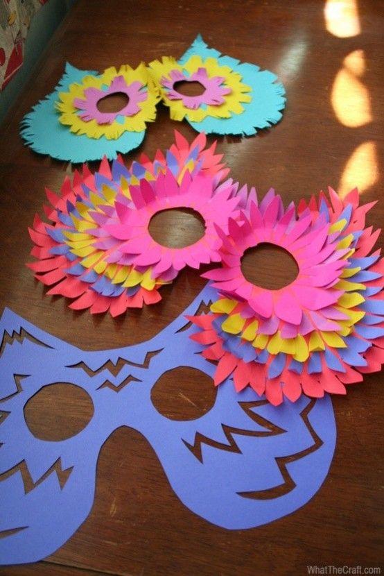 Carnevale: maschere fai da te (Foto) | Nanopress