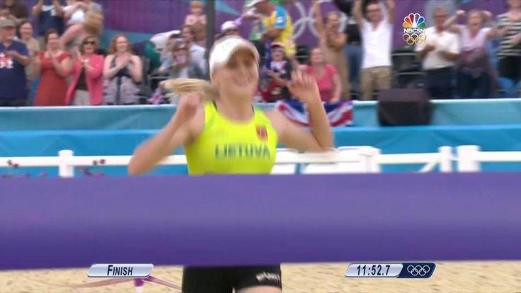 Modern Pentathlon | NBC Olympics  04:03  Modern Pentathlon London 2012: Laura Asadauskaite wins gold Laura Asadauskaite (LTU) finished first in the women's modern pentathlon at the 2012 London Olympics.