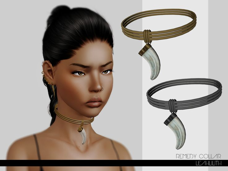 Remedy Collar Found in TSR Category 'Sims 3 Necklaces'