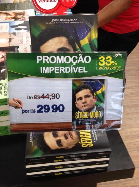 SUED E PROSPERIDADE: Livro em louvor do Füehrer Sergio Moro encalha nas...