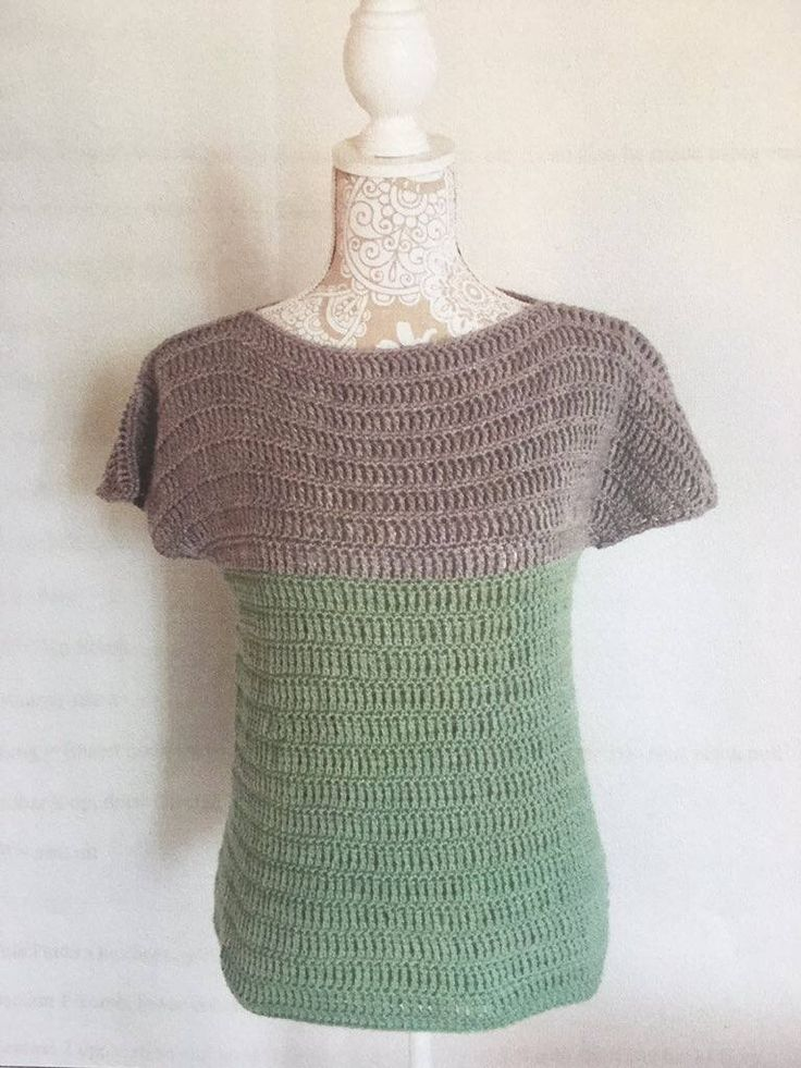 A personal favourite from my Etsy shop https://www.etsy.com/uk/listing/532080841/crochet-uk-pattern-summer-tee-jumper-by