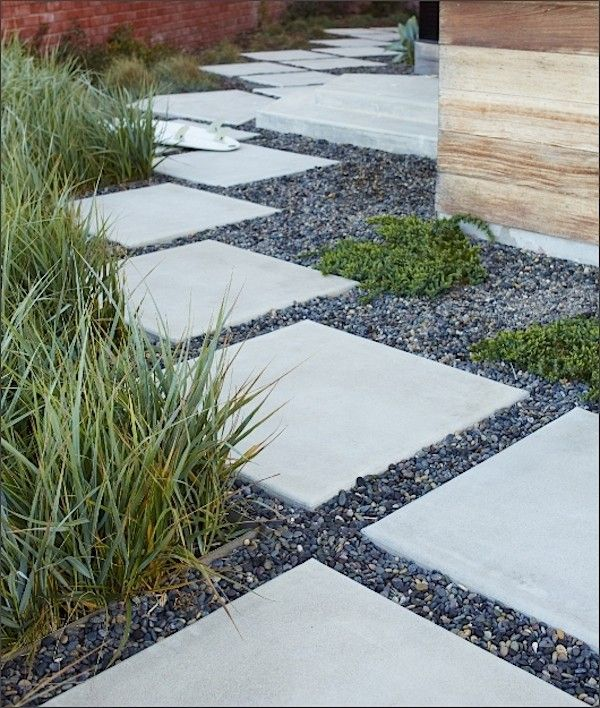 25 best ideas about concrete pavers on pinterest patio for Cement garden paths