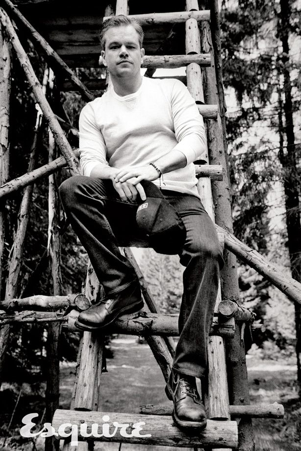 Matt Damon - Interview with Esquire