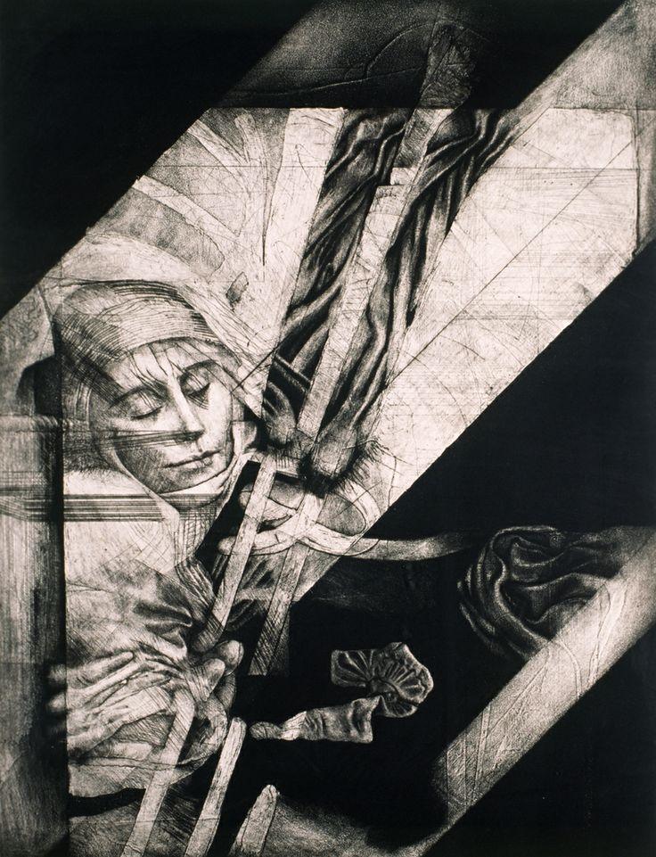 LA CONTINUIDAD EN EL DELIRIO DE LAS MONJAS MUERTAS Autor: Adriana Navarro Grabado de Juan Antonio Roa, Delirio de las Monjas Muertas