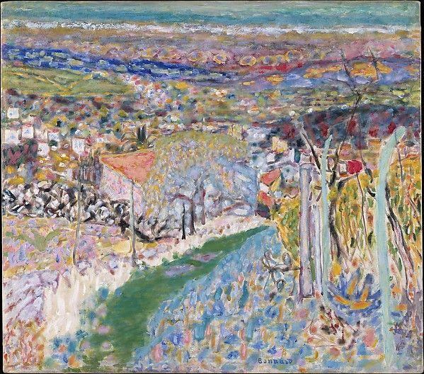 Pierre Bonnard (1867-1947) - Landscape in the South (Le Cannet), 1943, huile sur…