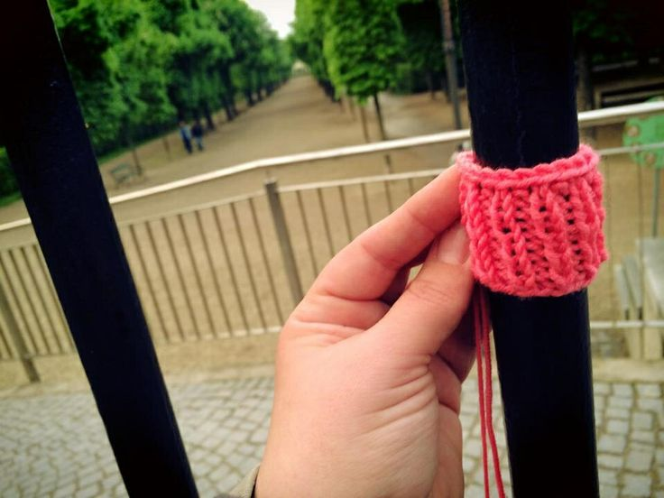A.L.F. = AUGARTEN LIBERATION FRONT - - - Yarnbombing protest against early closing time at Viennese parks this summer. - - - twitter.com/polaripop - - - facebook.com/polaripop - - - www.polaripop.com