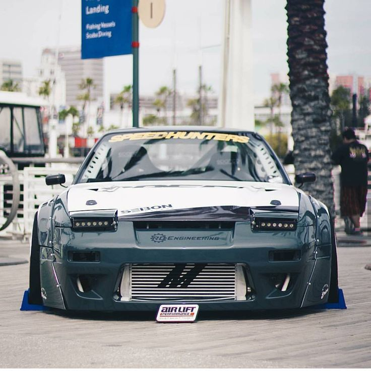 """2,841 Likes, 1 Comments - Officialimports (@officialimports) on Instagram: """"OFFICIALIMPORTS Owner:@killagram For a feature #officialimports #nissan #240sx #s13 #silvia…"""""""