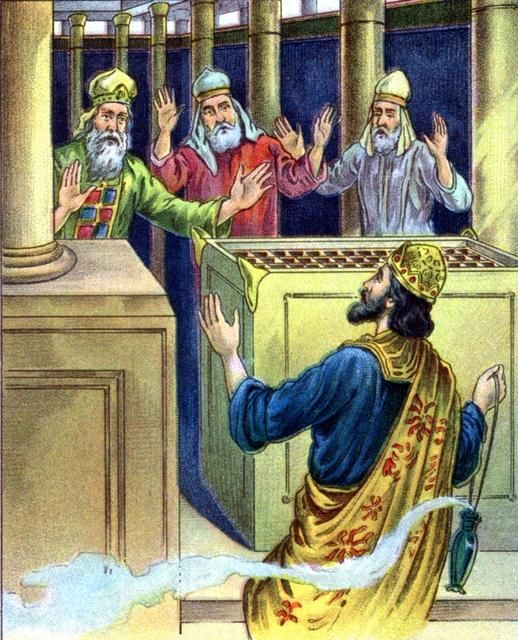 2 Chronicles 26:16 | uzziah-offered-incense-in-the-temple-and-god-struck-him-with-leprosy
