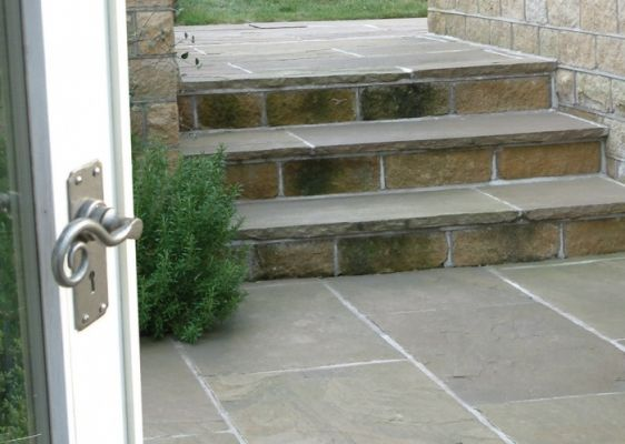 Raj Green Sandstone Paving Slabs from Easypave | Quality Paving Slabs | Paving Slabs | Patio Paving & Paving Stones | Easypave