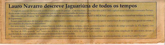 """NÚCLEO DE CORRESPONDÊNCIA """"TRINCHEIRAS PAULISTAS DE 32"""" DE JAGUARIÚNA: A Vila Jaguari e as Revoluções."""