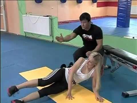 комплекс упражнений для проблемных зон бедер. set of exercises for problem hips areas.