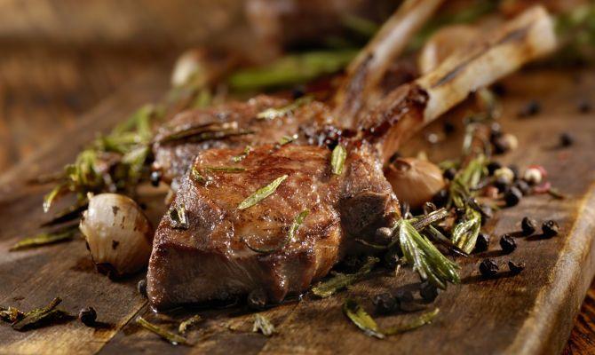 Agnello alla Scottadito www.tastetrailsrome.com cooking holiday italy