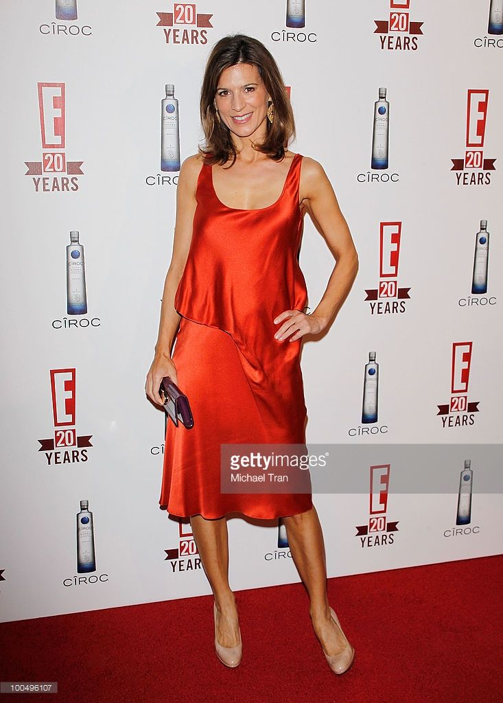 Perrey Reeves arrives to E! 20th Birthday Celebration held at The London Hotel on May 24, 2010 in West Hollywood, California.