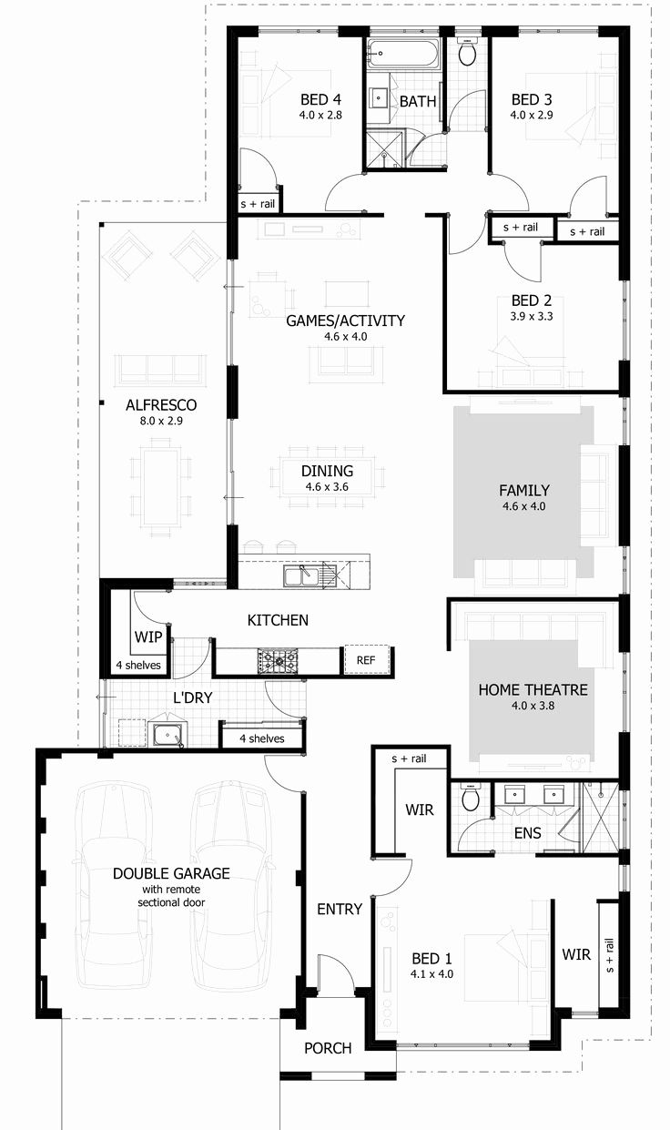 2 Bedroom Modern House Plans South Africa House Plans South Africa 4 Bedroom House Plans Bedroom House Plans
