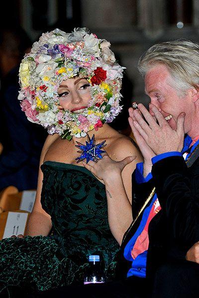 Lady Gaga in Philip Treacy
