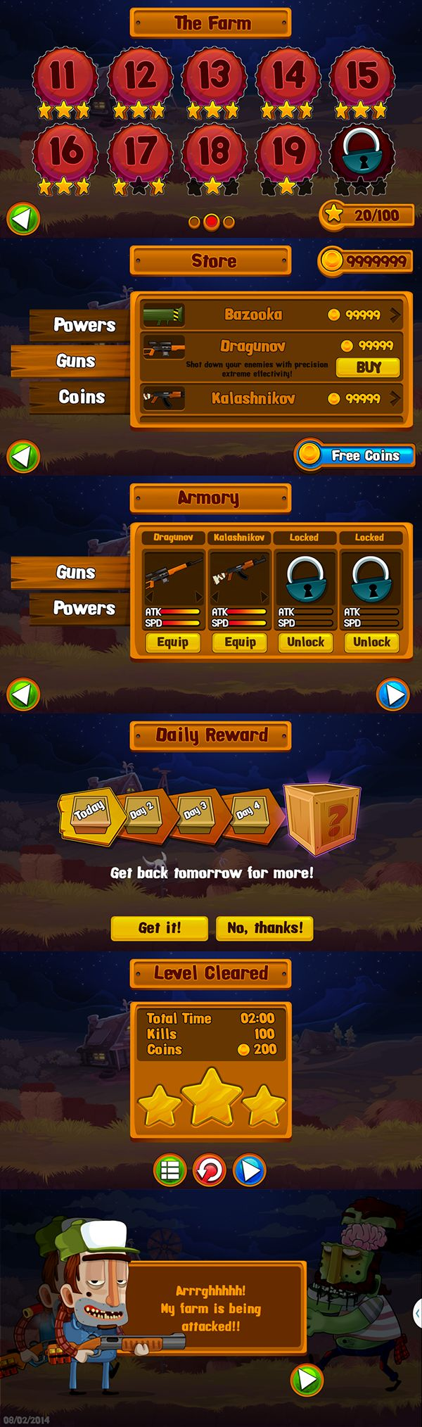 Redneck Redemption - Mobile Game on Behance