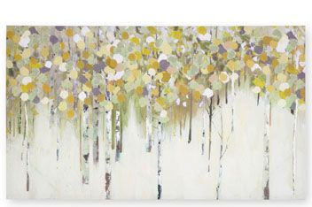 Birch Forest Canvas (862993X53) | £50