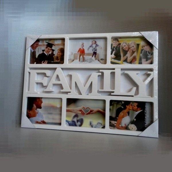 Rámček na rodinné fotky Family (6 fotiek)