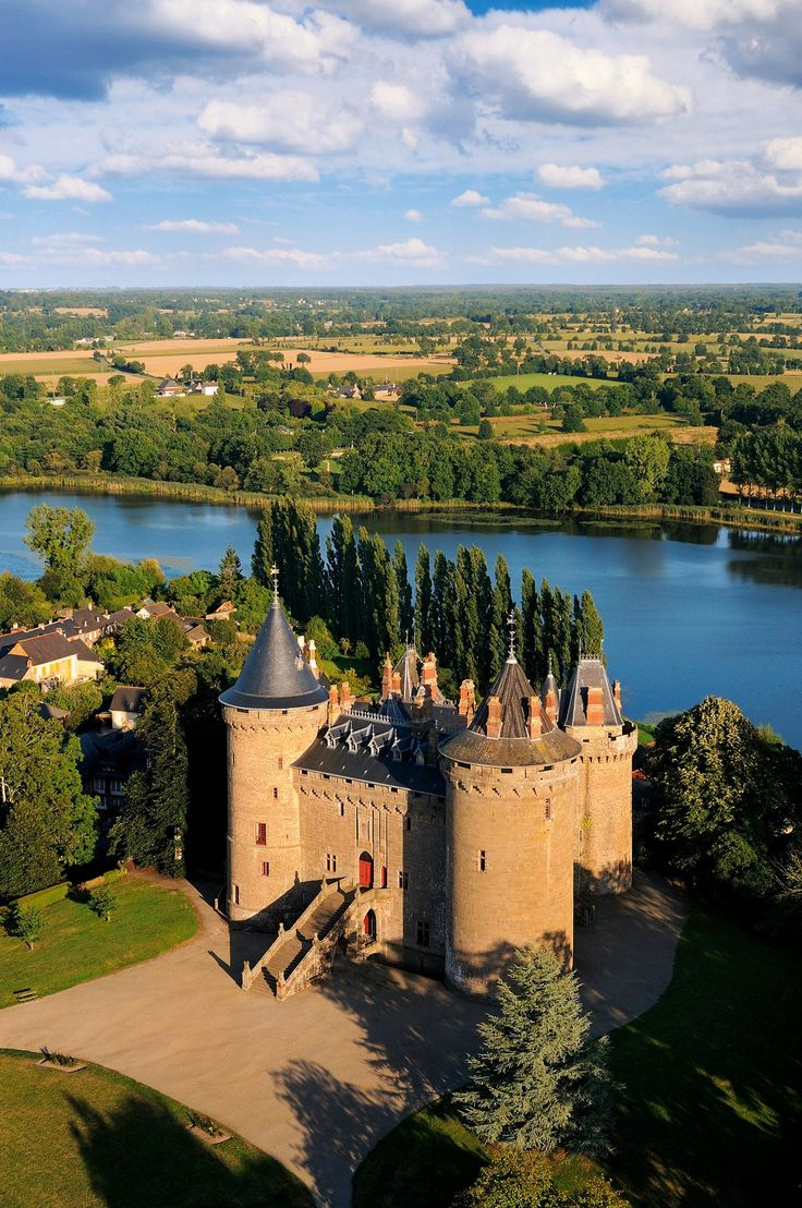 Castle of Combourg in Brittany, France Inspiration for Tamura Hush, a Lakeview Novel http://www.amazon.com/dp/B00A86QLU4