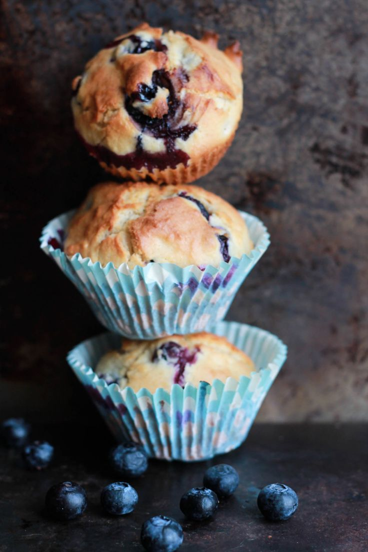 Blueberry Scone Muffins- Erren's Kitchen - This recipe is so tender and delicious, you'll be collecting the crumbs to make sure not a morsel is wasted!