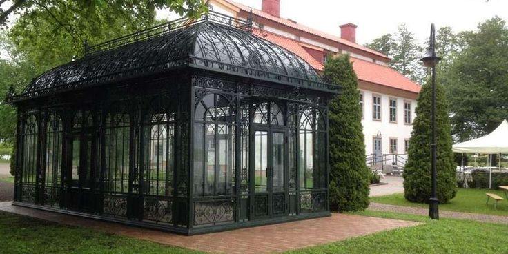 EKSKLUSIVT: Victoria-huset fra Bosson koster 700.000 kroner. Det kan bestilles med vinduer og brukes som drivhus, eller ha andre funksjoner. Hvert hus spesiallages.