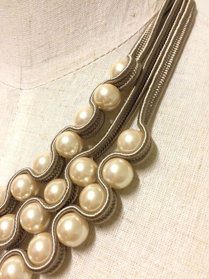 3-Layer Pearl Necklace – Pencil Pine