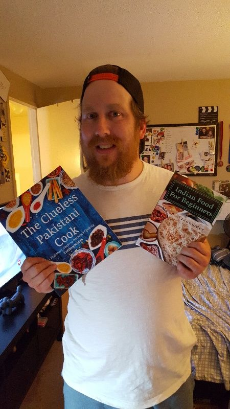 Going to get my cook on, Thanks Santa. - r/Food Cookbooks Exchange - redditgifts