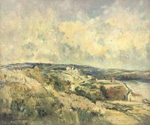 La vallée de la Seine - (Albert Charles Lebourg)