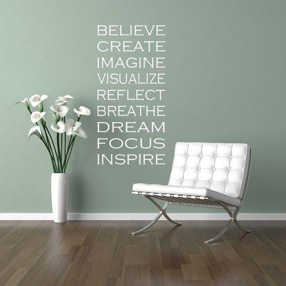 Best Wall Decor Images On Pinterest - How do u put up a wall sticker