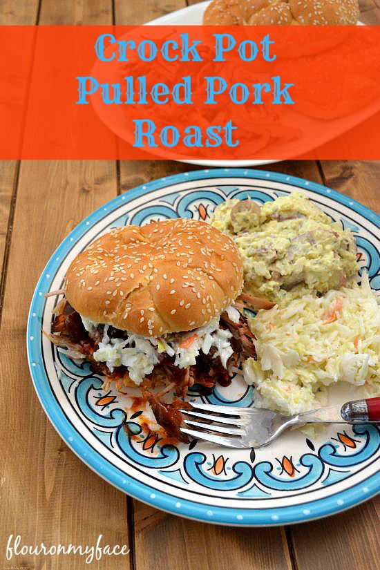 Make Crock Pot Pulled Pork Roast with a Boston butt roast.when you find a big pork roast on sale. Save money and make a great pulled pork sandwich.