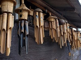 Wooden wind Chimes ~ love the sound they make, the bigger the better