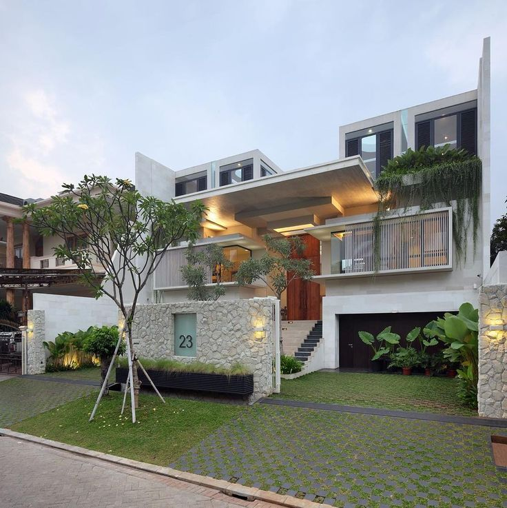 static house by tws partners location jakarta indonesia modern house exteriorshouse exterior designmodern