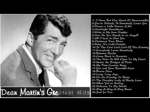 ▶ Best Song Of Dean Martin || Dean Martin's Greatest Hits - YouTube