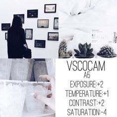 VSCO Cam Filter A5 Exposure +2