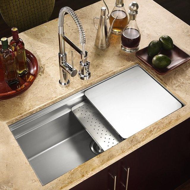 Kitchen Sink Ideas Pictures: 11 Best Stylish Kitchen Sinks Images On Pinterest