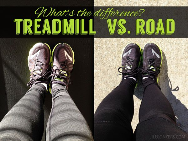 What's the Difference? Treadmill vs. Road Running jillconyers.com @Jill Fickling-Conyers #running