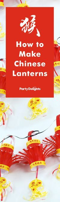No Chinese New Year party is complete without paper lanterns! Find out how to make these easy DIY Chinese lanterns with our free printables and quick step-by-step tutorial.