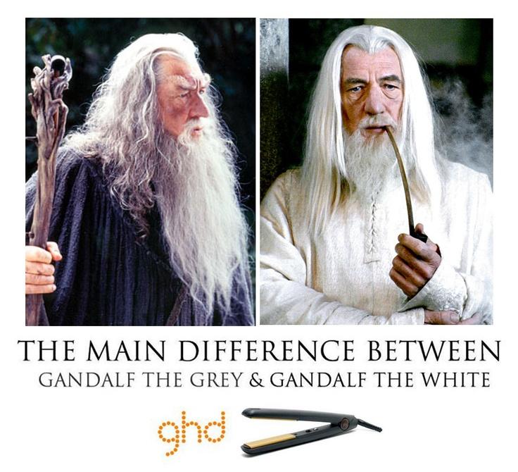 Gandalf the grey VS Gandalf the white... | FUNNY ...