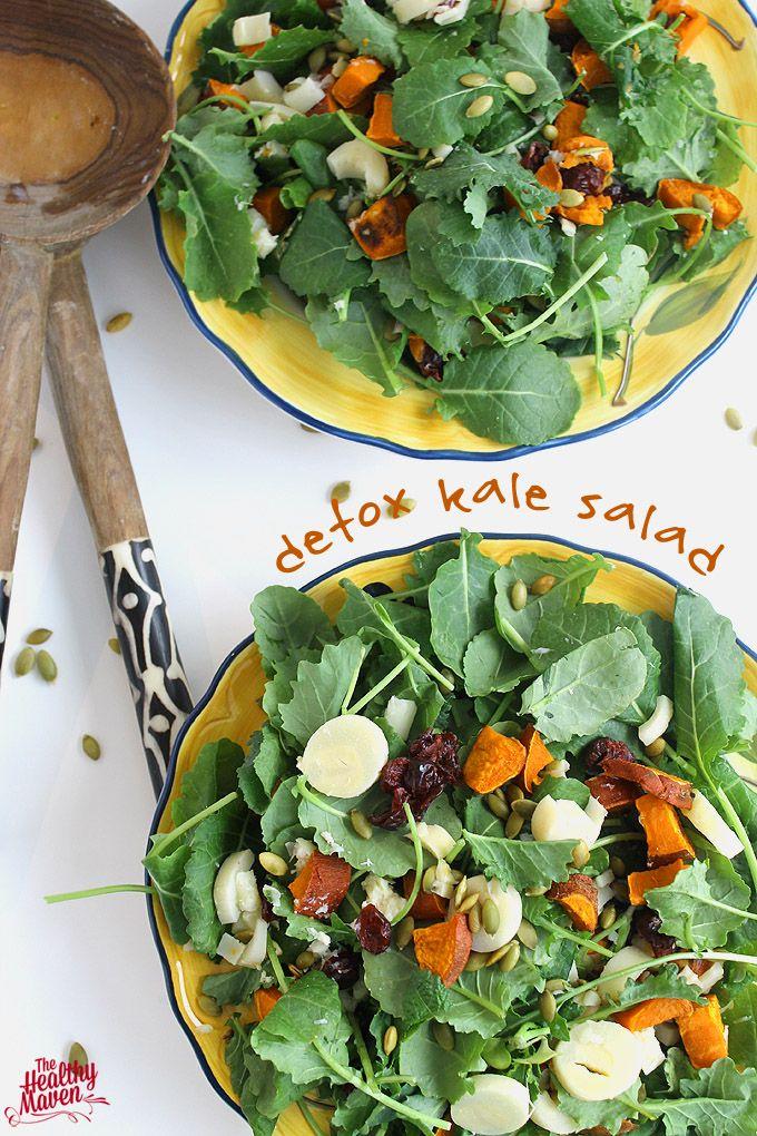 detox kale salad {The Healthy Maven}