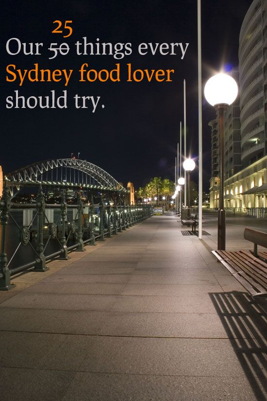 25 things every Sydney food lover should try by eatshowtell.com