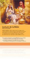 Programme de lecture de la Bible French