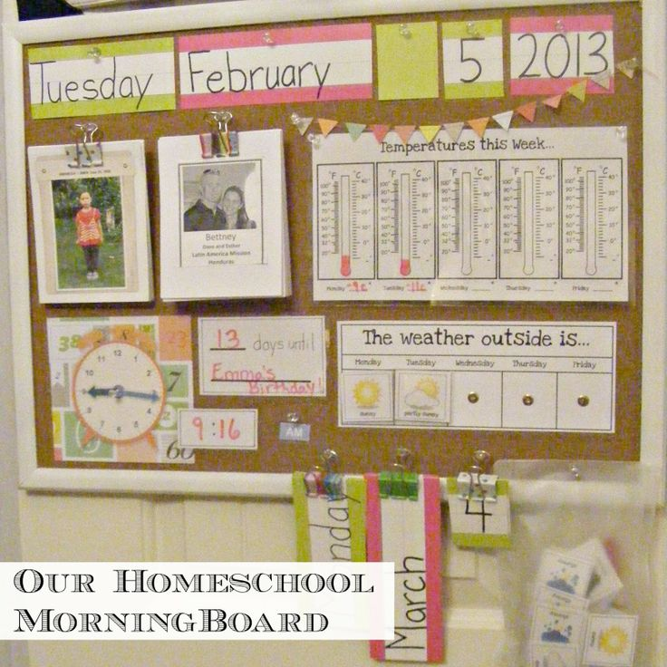 114 Best Images About Early Preschool Morning Board And