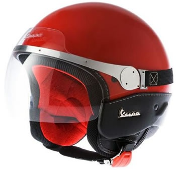 Vespa Gran Turismo Helmet Dragon Red