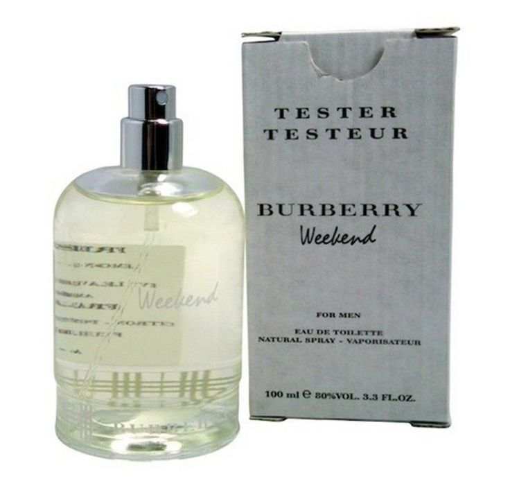 BURBERRY WEEKEND for Men Cologne 3.3 oz / 3.4 oz edt New in Box tester #Burberry