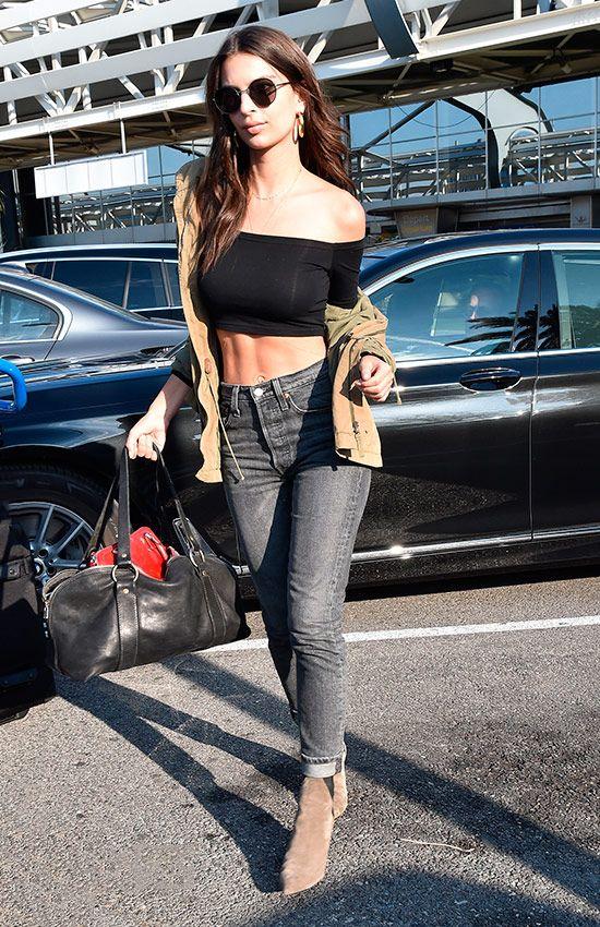 Looks en el aeropuerto de Cannes