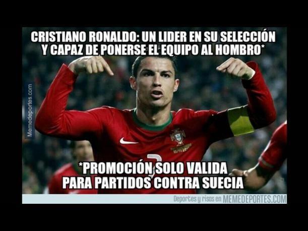 Mundial Brasil 2014: Memes por eliminación de Cristiano Ronaldo