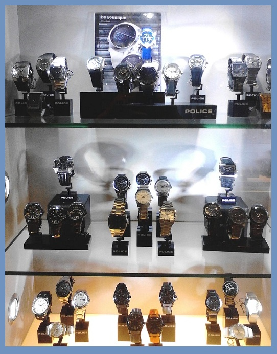Police Watch Display