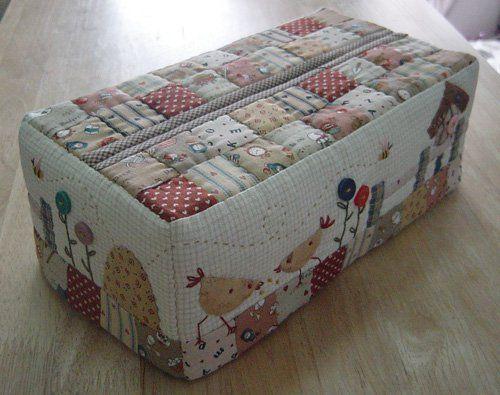 Tissue paper box cover