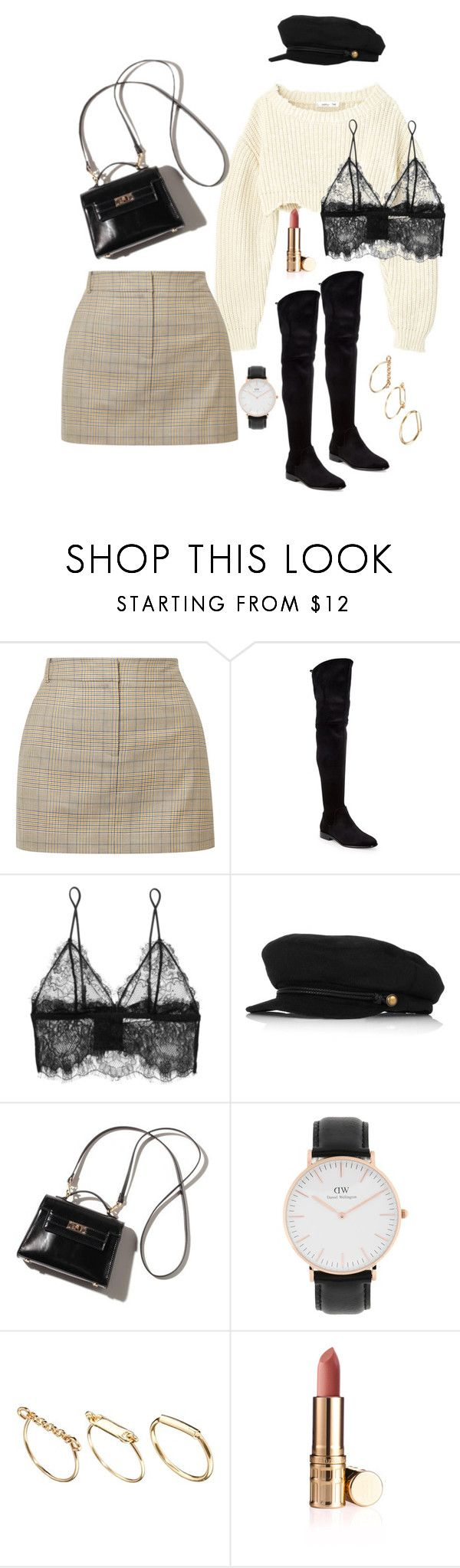 """Untitled #200"" by carolina11297 ❤ liked on Polyvore featuring TIBI, Donna Karan, Anine Bing, Eugenia Kim, Daniel Wellington and ASOS"